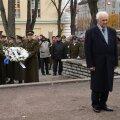 FOTOD | Kaitseliit tähistab sajandivanust teekonda: riigijuhid asetasid pärjad langenud õpetajate ja õpilaste mälestusmärgile