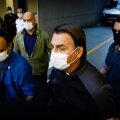Brasiilia riigipea Jair Bolsonaro lahkus eile São Paulo haiglast.
