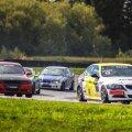 Carmen Kraav (esiplaanil) oli BMW 325 Cupil eestlastest parem, saavutades kokkuvõttes neljanda koha.