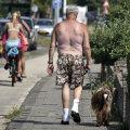 25. juulil ulatus temperatuur Hollandis 40 kraadini.