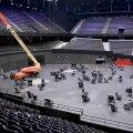 VIDEO | Juba kerkib! Eurovisioni lava on ehitamisel