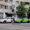 ФОТО | Дорогая стыковка: Lamborghini в центре Таллинна въехал в Volkswagen