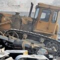 Treilerilt maha lennanud buldooser lömastas Venemaal sõiduauto nelja inimesega