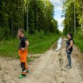 Evelyn Hints ja Gunnar Lepasaar on looduskaitse ja lendaorava hüvanguks pidanud loobuma juba u 40 hektarist oma metsast, uute kavade raames on minemas veel 42 hektarit.
