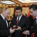 Putin kinkis Hiina presidendile Vene nutitelefoni, millest keegi pole õieti kuulnudki