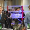 Taavi Aas ja Rainer Vakra Delfi ja TV3 valimisdebatil