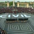 FOTOD ja VIDEO: Budapestis protestisid tuhanded vaba hariduse ja vabaühenduste mahasurumise vastu