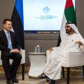 Peaminister Jüri Ratas ja šeik Mohammed bin Rashid Al Maktoum