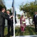 Urmas Paet Indias Eesti suursaatkonda avamas