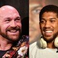Tyson Fury ja Anthony Joshua käes on hetkel kõik raskekaalu meistrivööd.