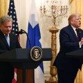 Президент Финляндии после встречи с Трампом: хорошо, что у нас не так