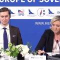 VIDEO | Le Pen ärritus Krimmi annekteerimise kohta küsinud ajakirjaniku peale
