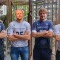 Fotol: Andres Toobal, Alar Rikberg, Rivo Vesik ja Karl Rinaldo.
