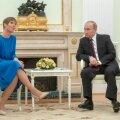 Kersti Kaljulaidi kohtumine Vladimir Putiniga tänavu aprillis