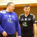 Balti liigas võidu noppinud Tapa peatreener Elmu Koppelmann kiitis meeskonna kogenud pallurite panust – Mikola Naum ja Mihkel Koppelmann kuuluvad nende hulka.