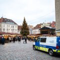 Politsei Tallinna jõuluturul