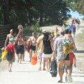 Rahvas suundub Vääna-Jõesuu randa