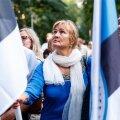 В EKRE планировали митинг перед Рийгикогу в день окончательного голосования по проекту о референдуме