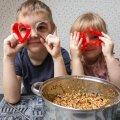 Meisterdamist mudilastega: tehke ise maiuspalad toiduhädas lindudele