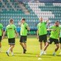 FC Flora mängijad lähevad järjekordsele eurokohtumisele vastu heas tujus ja enesekindlalt.