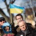 DELFI FOTOD: Kaitsevägi ja Ukraina kultuuriselts mälestasid ukraina kirjanduse suurkuju
