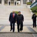 Donald Trump ja Kim Jong-un Koreade piiril