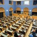 Riigikogu saal