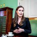 Sanna Marin, Soome peaminister.