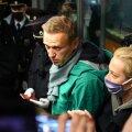Pühapäeval kodumaale saabunud Aleksei Navalnõi peeti kinni juba passikontrollis.