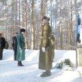 Mälestusteenistus Metsakalmistul