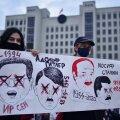Mitte kõigil pole kaht silma. Illustratiivne protest Minskis