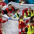 Врачи эвакуируют Кристиана Эриксена со стадиона