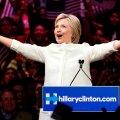 Hillary Clinton ülistas ajaloolist hetke naiste jaoks