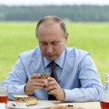 Sellal, kui meedia uudiseid seedis, kohtus Putin põllumeestega ja maitses jõhvikatooteid.