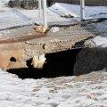 ФОТО: Ремонт пострадавшего от шторма причала Летной гавани обойдется в более чем 240 000 евро