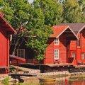 Soome linnakeste Rauma ja Porvoo imeline puitarhitektuur väärib avastamist