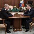 Putin määras Medvedevi talle rätsepatööna tehtud ametikohale