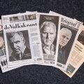 Hollandi ajalehtede eilsel esikaanel oli Peter R. de Vriesi surm.
