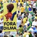 VIDEO ja FOTOD: Sajad tuhanded inimesed nõudsid tänavatel Brasiilia presidendi ametist lahkumist