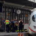 Tragöödia Saksamaal: 8-aastane poiss tõugati perroonilt rongi alla