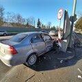 Kahe auto kokkupõrge Tallinnas Tartu maanteel