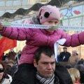 FOTOD: Moskva sulges miitingute hooaja