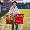 Эстонский малыш Лукас выйдет на поле в полуфинале ЧМ-2014