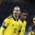 Zlatan Ibrahimovic (esiplaanil).