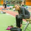 Ksenija Balta võib võistlusega rahul olla: tajooksis pingevabalt ja see õnnestus üsna hästi.