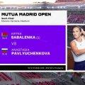 TÄISPIKKUSES   Tennis: Aryna Sabalenka - Anastasia Pavljutšenkova
