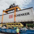 ФОТО | В Латвии большие контейнеры будут перевозиться не тягачами с полуприцепами по автомагистралям, а по железной дороге