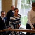 ФОТО DELFI: Шведская кронпринцесса Виктория прибыла в Таллинн и встретилась с Кальюлайд