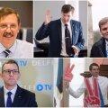 Kellest saab uus Tallinna linnapea? Tehnokraadist Aas versus karismaatilised Michal, Vakra ja Helme