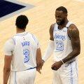 Anthony Davis ja LeBron James